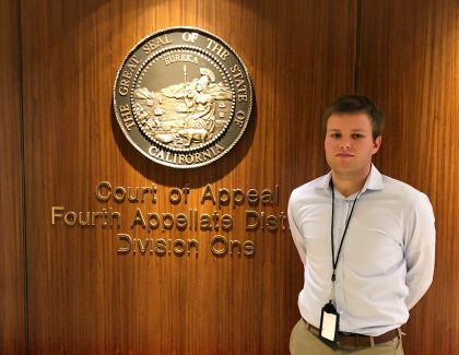 Internship Spotlight: Judicial Intern at 4th District Court of Appeal