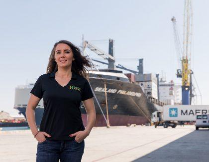 Alumna Runs a Tight Ship