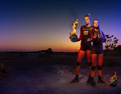 Women's Volleyball Team Is on Fire