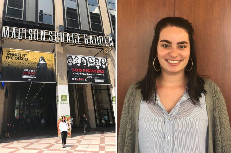 Internship Spotlight: Student Associate at Madison Square Garden