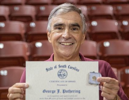 CofC Employees Recognized for Years of Service