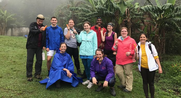 Students Experience Chemistry in the Costa Rican Jungle