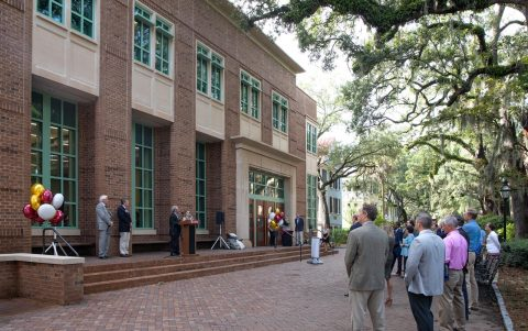College Celebrates Grand Opening of Renovated Science Center