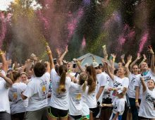 Charleston Miracle Hosts First-Ever Color Run