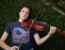 CofC's Cecilia McGuinn is Fiddling with Music