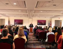 President Oz Holds Faculty/Staff Town Hall