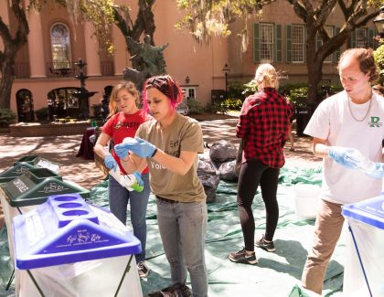 Princeton Review Recognizes CofC Among Top Green Colleges