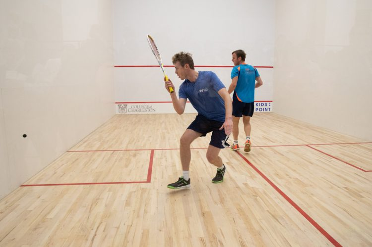 New Squash Courts Officially Dedicated
