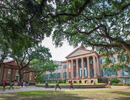 CofC Presidential Finalists on Campus This Week