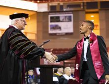 Cybersecurity Leader Praises Graduates at Winter Commencement