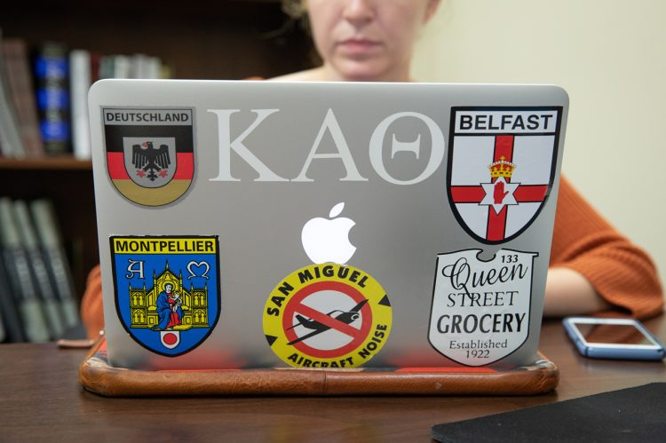 How Students Communicate With Laptop Stickers