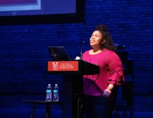 Author Angie Thomas Encourages Students to 'Speak Up and Speak Out'