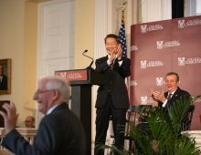 President-Elect Hsu Receives Enthusiastic Welcome on Campus