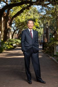 College of Charleston President Andrew T. Hsu.