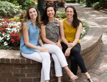 Sibling Trio Make It a Sister Act at CofC