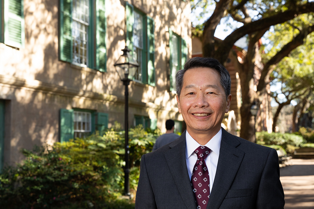 College of Charleston President Andrew T. Hsu