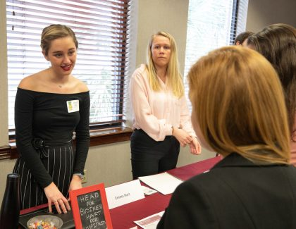 Department of Hospitality and Tourism Management Flips the Job Fair