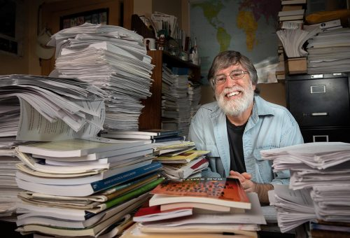Office Space: Political Science Professor John Creed