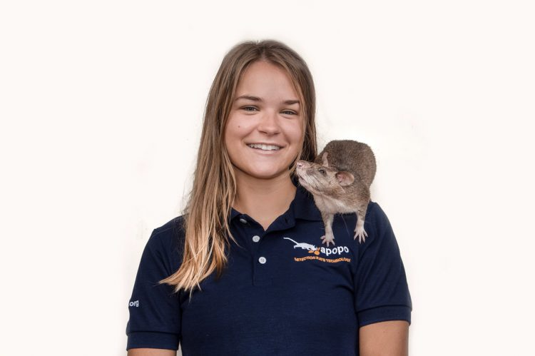 CofC Alum Trains Rats to Save Lives