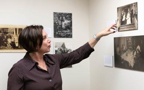 Students Explore Jewish History Through Family Photographs