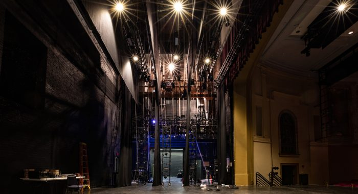 Sottile Theatre Closed for Stage Renovation