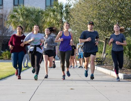 CofC Course Prepares Students for Cooper River Bridge Run