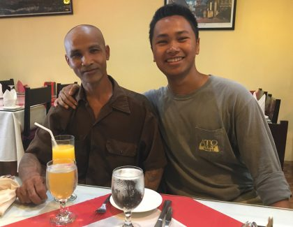 Education Major Explores Family's Roots in Cambodia