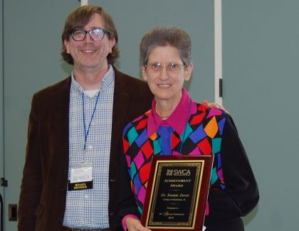 Writing Lab Director Receives Prestigious Achievement Award