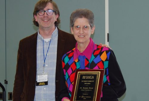 Writing Lab Director Receives Prestigious Achievement Award