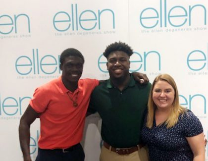 How Two High Schoolers Accepted to CofC Got on 'The Ellen Show'