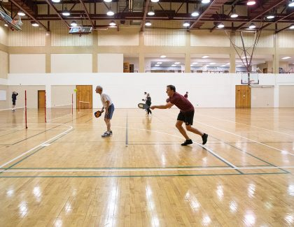 Pickleball: CofC Makes a Sport of It