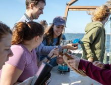 Charleston Harbor is a Living Laboratory for Oceanography Students