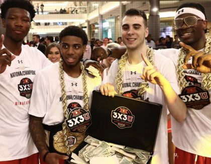 CofC's Jarrell Brantley Wins Big in 3x3U National Championship