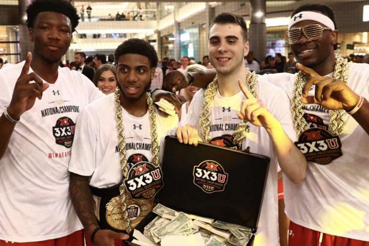 CofC's Jarrell Brantley Wins Big in 3x3U National Championship
