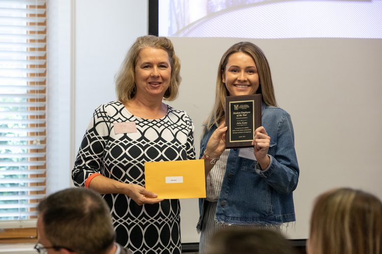 2019 Student Employees of the Year Announced