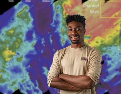 Geology Graduate Has His Career All Mapped Out