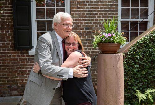CofC Says Farewell to Interim President Osborne