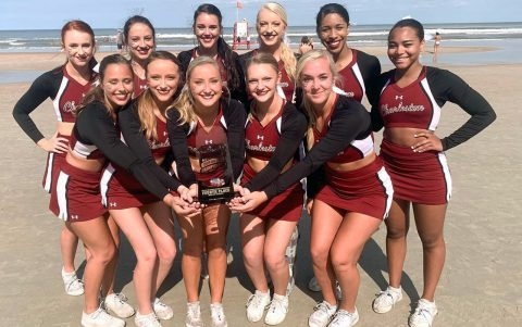CofC Cheerleading Team Ranks Fourth in National Competition