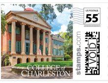 CofC Debuts Commemorative Stamp