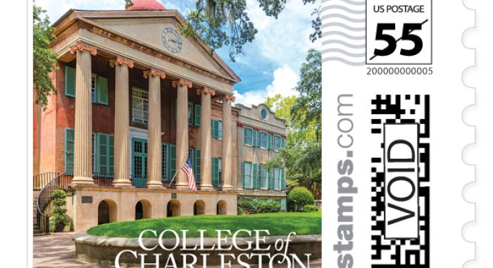CofC Debuts Commemorative Stamp