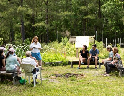 Hidden Hands Garden Unearths Agricultural History at Stono Preserve