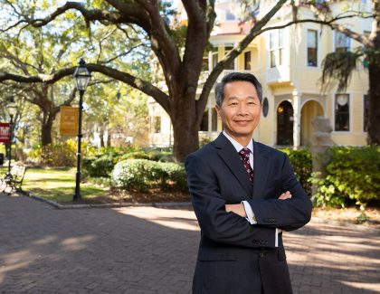 Andrew T. Hsu Takes the Reins as CofC's 23rd President