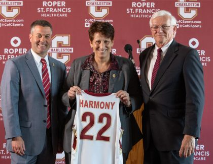 CofC Welcomes New Women's Basketball Coach