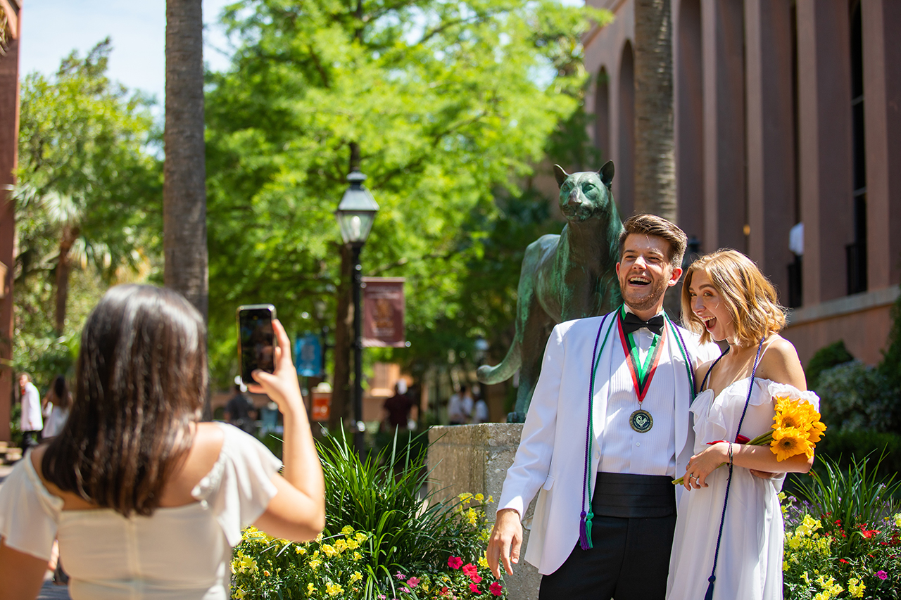 Check Out Stunning Photos and Video From CofC's 2019 Spring Commencement