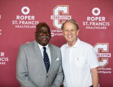 CofC Says Farewell to Athletics Trailblazers John Kresse, Otto German