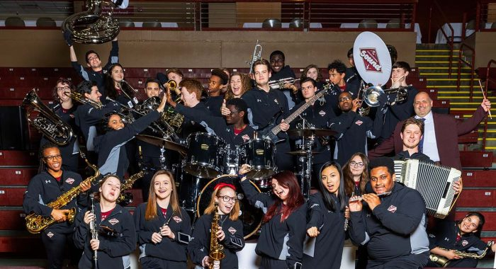 New Pep Band Is Striking the Right Note
