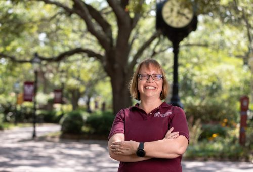 CofC Faces to Know: Stephanie Auwaerter