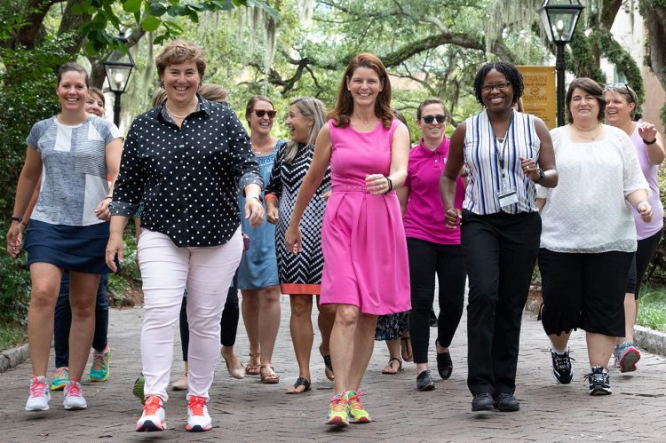 Staff, Faculty Step It Up for Health