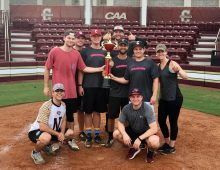 Everyone Wins in the Faculty/Staff Summer Softball League
