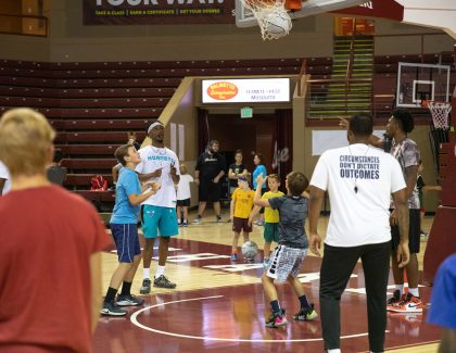 Joe Chealey Hosts New Basketball Camp at CofC